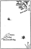 Map of Lilliput