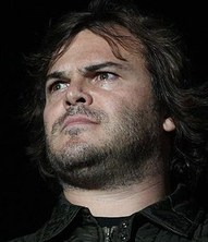 Jack Black  in a serious moment