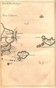 Gulliver's map of  Luggnagg